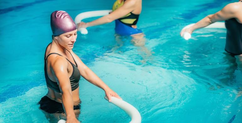Zapraszamy  na zajęcia aqua aerobiku