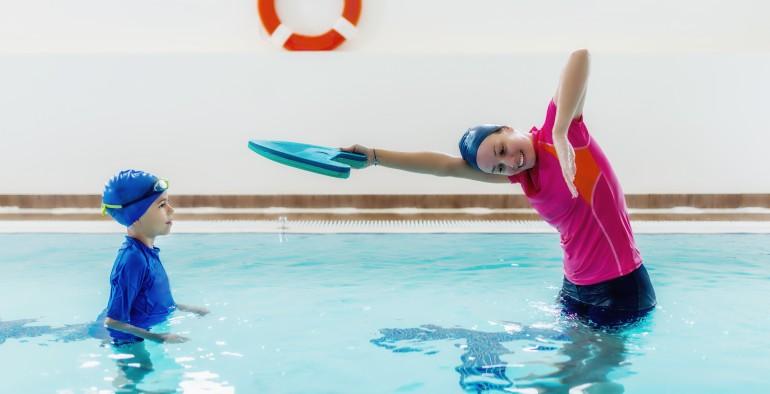 Indywidualne nauki oraz doskonalenie pływania